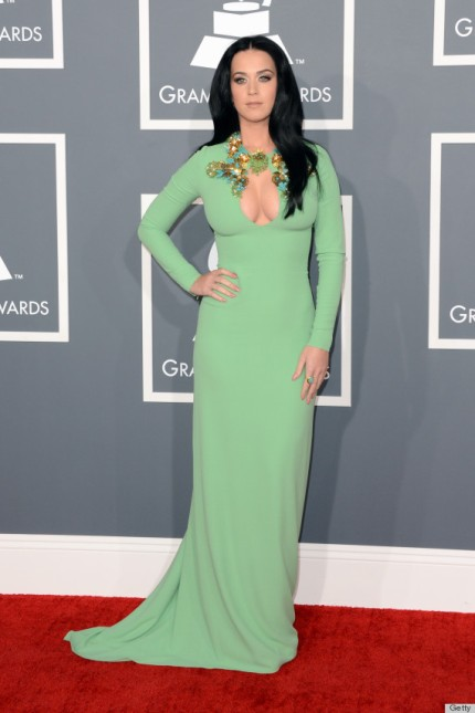 Katy Perry at The 55th Annual GRAMMY Awards - Arrivals